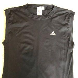 Adidas climacool sleeveless workout shirt XL